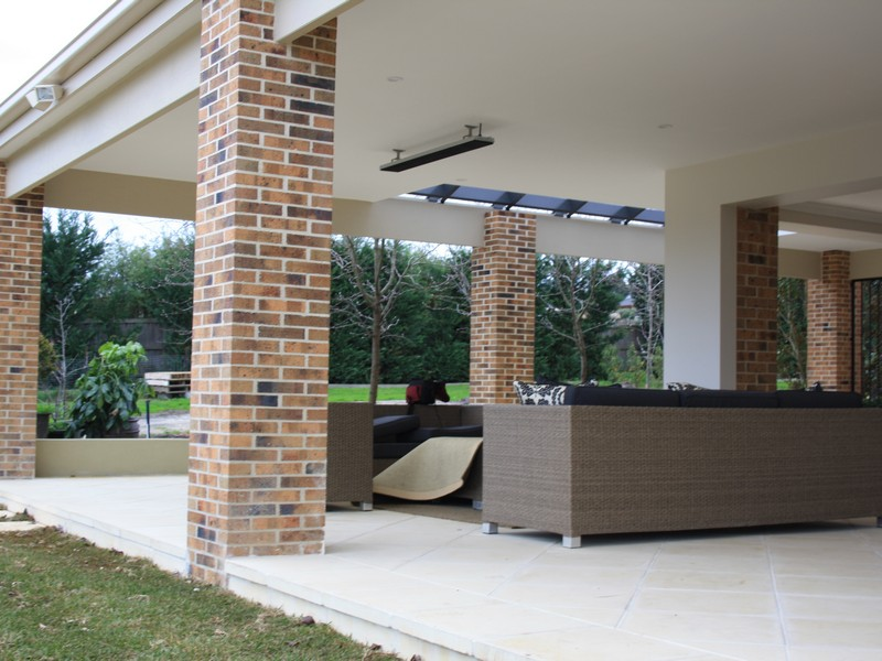 alfresco brick pillars