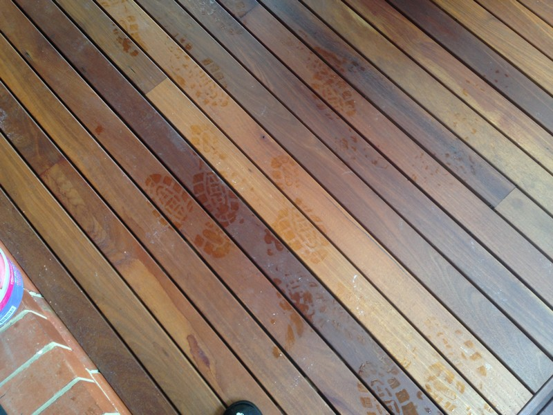secret nail decking in alfresco area