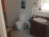 large bathroom toilet