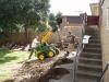 verandah and deck build footings