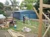 verandah and deck build