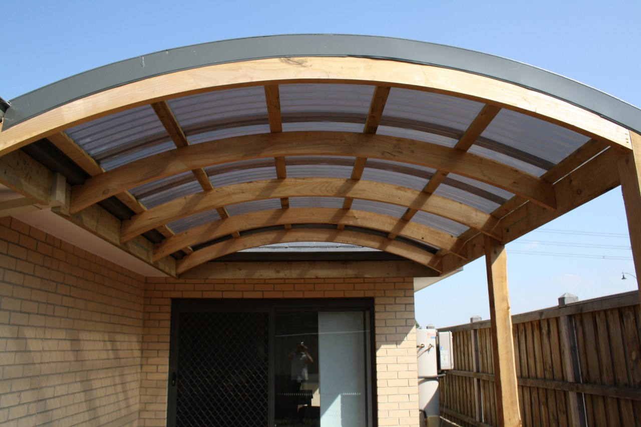 Curved Roof Verandah