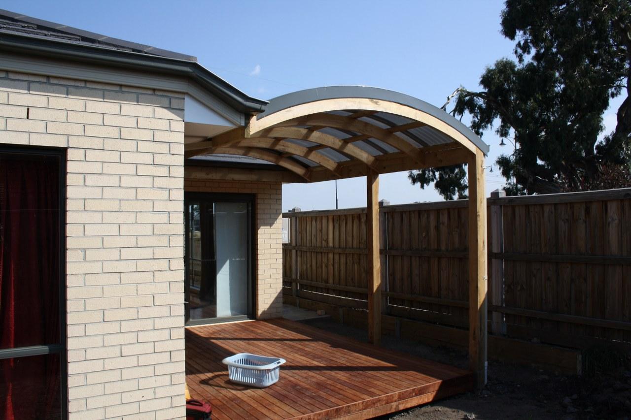 Curved Roof Verandah Designs