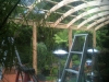 curved timber rafters