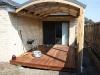 curved roof verandah