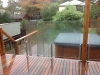 decking & glass balustrade