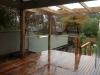 deck, handrail & open verandah