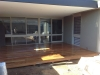 deck, verandah with plaster roof