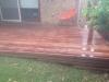 jarrah timber deck