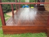 hardwood decking, kd hard wood handrail