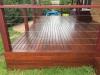 hardwood decking, kd hard wood handrail