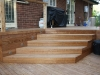 45 degree decking stairs