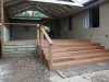 emerald deck stairs, timber gable verandah