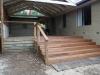 emerald deck stairs, timber gable verandah