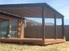 deck, flat roof verandah