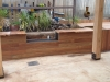 spotted gum deck bbq inset