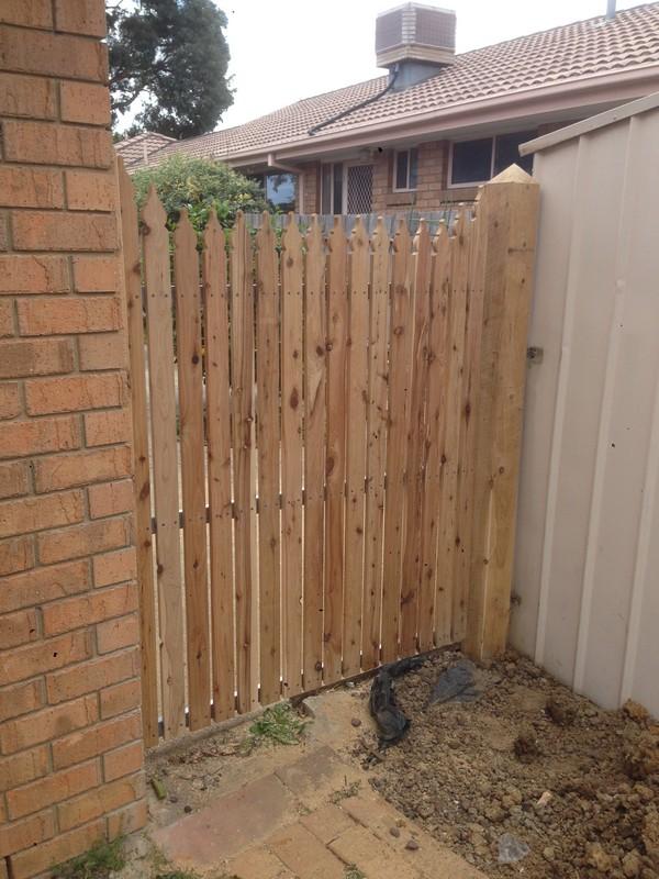 picket gate