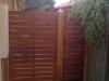 steel frame timber gate
