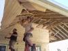 pine lining construction