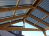 gable polycarbonate roof