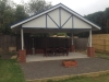 freestanding gable verandah