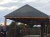 custom unparallelled frame verandah