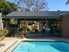 gable verandah near pool