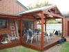 flat and gable roof verandah