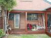 small flat roof verandah
