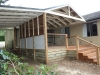 gable verandah, deck and carport