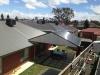 attached roof extenda verandah