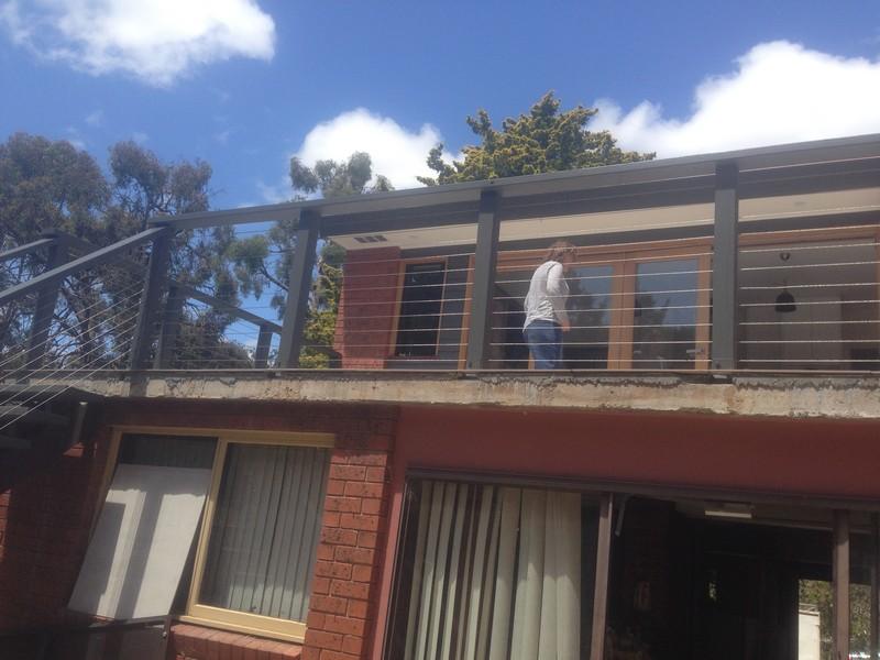 outdoor balustrade & handrail