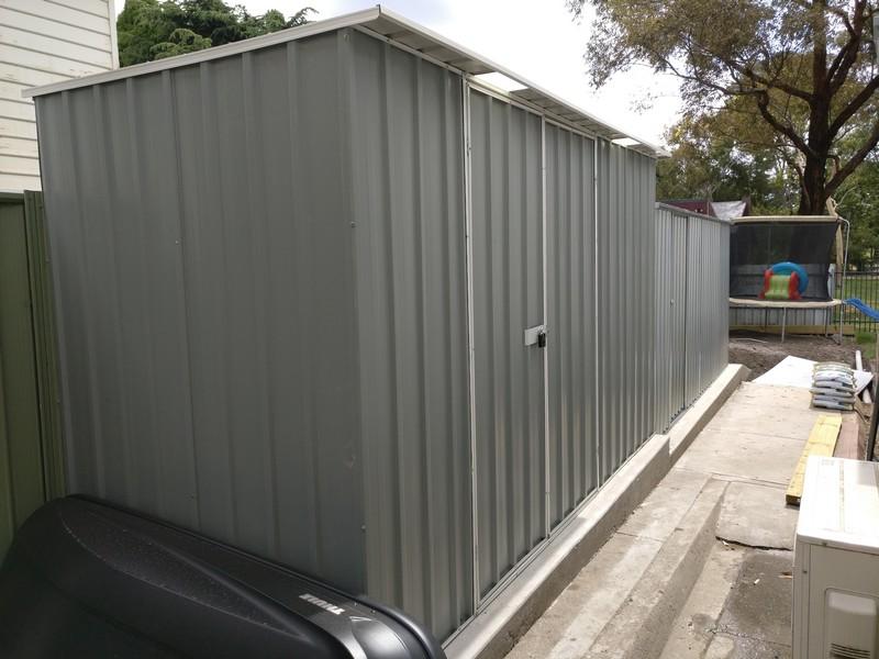 steel sheds brunswick