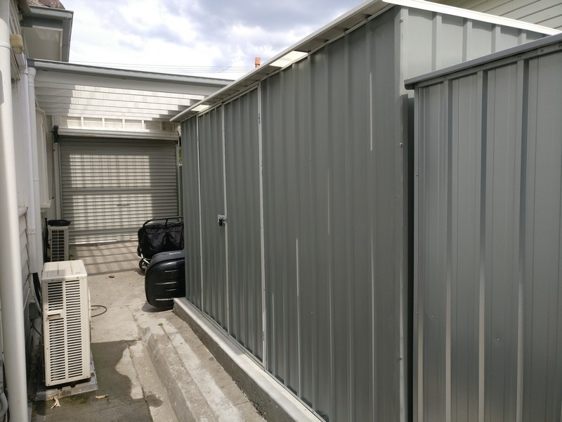 backyard steel sheds
