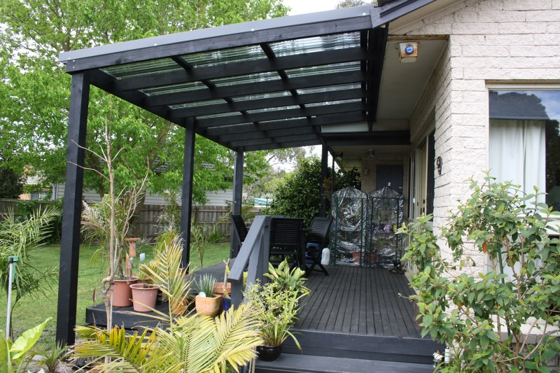 Flat Roof Verandah Designs