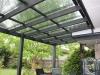 balck flat roof verandah