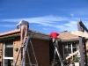 preparing roof for pergola
