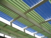 green clear polycarbonate