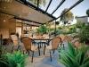 stratco falt verandah with open pergola