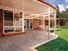 stratco round edge flat verandah
