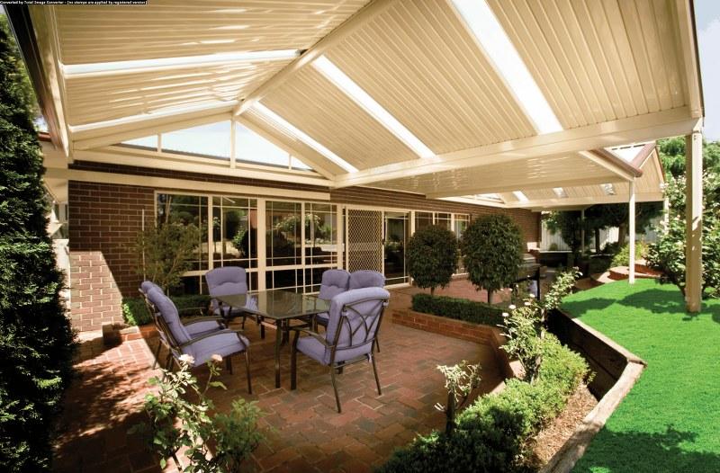 Flat gable verandah for Home designs with verandahs
