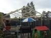 steel verandah framework