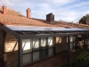 flat roof polycarbonate twin wall
