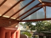 gable roof 10mm twin wall polycarbonate