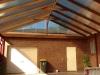 gable kd hardwood roof