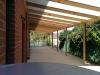 KD hardwood rafters twin wall