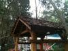 shingle roof pergola