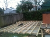 deck base on concrete